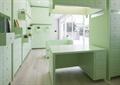 智能锁空间,桌子,储物柜,沙发,玻璃门