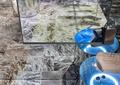 展示台,大理石地砖,镜面柜