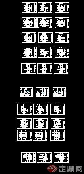 美式古典别墅室内设计施工图附实景照片(8)