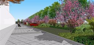 一个小区景观设计图