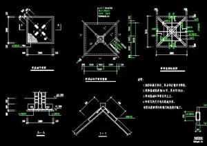 多个木亭子CAD施工图