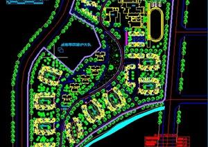 某高档小区规划设计 CAD图