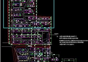 高档小区建筑规划设计CAD图