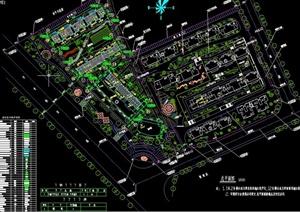 某小区高层住宅建筑规划设计CAD图