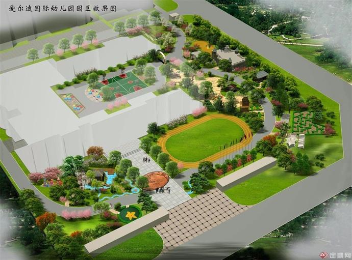 沧州幼儿园效果图