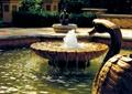 喷泉水池,雕塑小品,天鹅雕塑