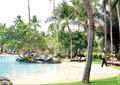 休閑度假區景觀,水池