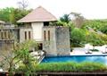 休閑度假區景觀,露天泳池,種植池