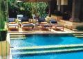 休閑度假景觀,泳池,傘躺椅