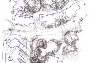 广西某住宅小区景观设计方案