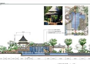 长沙某住宅小区景观设计方案