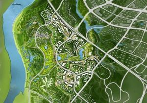园林景观收集优秀彩平图合集