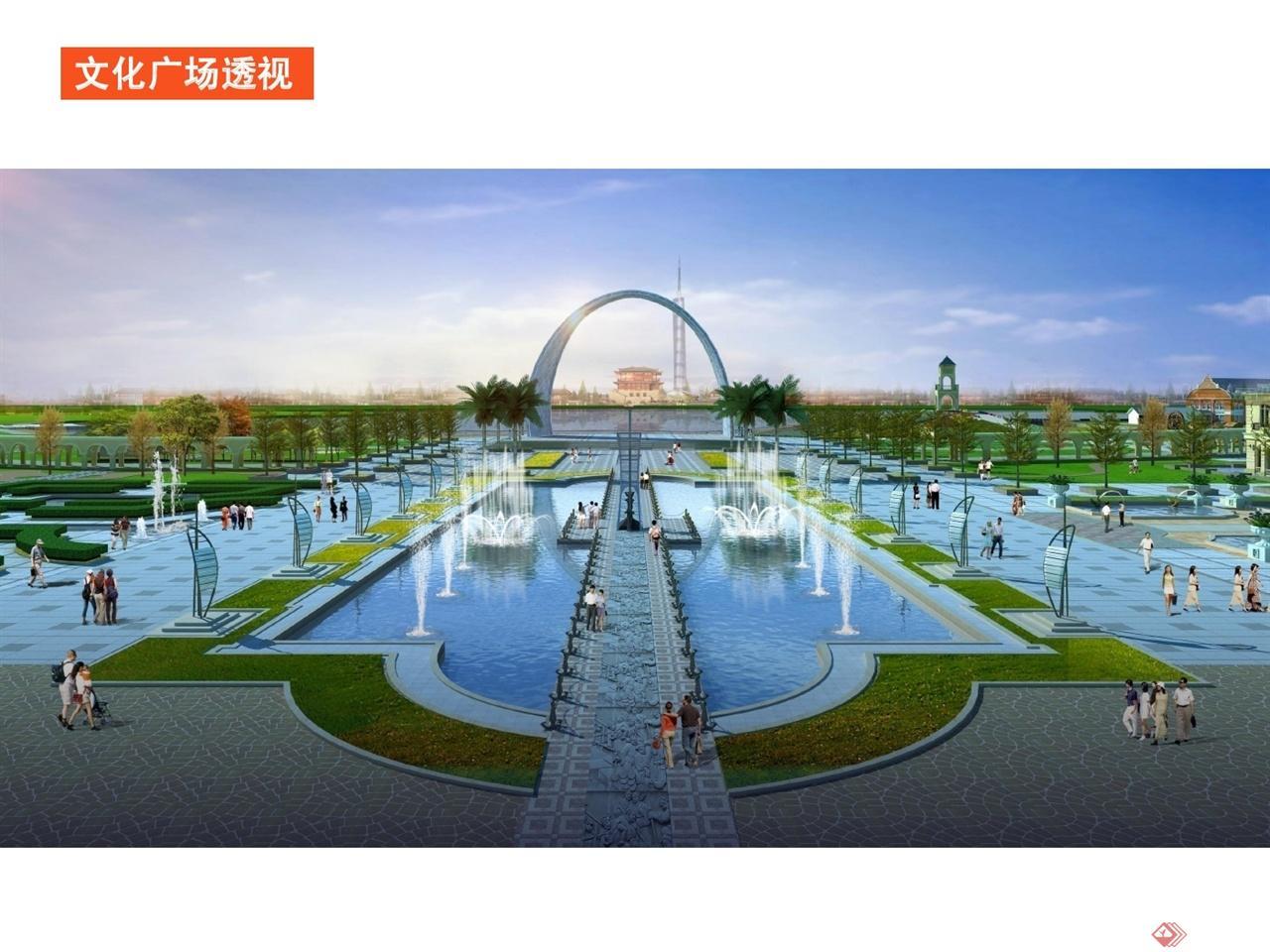 中国淮安世界运河文化旅游区运河文化广场景观设计005