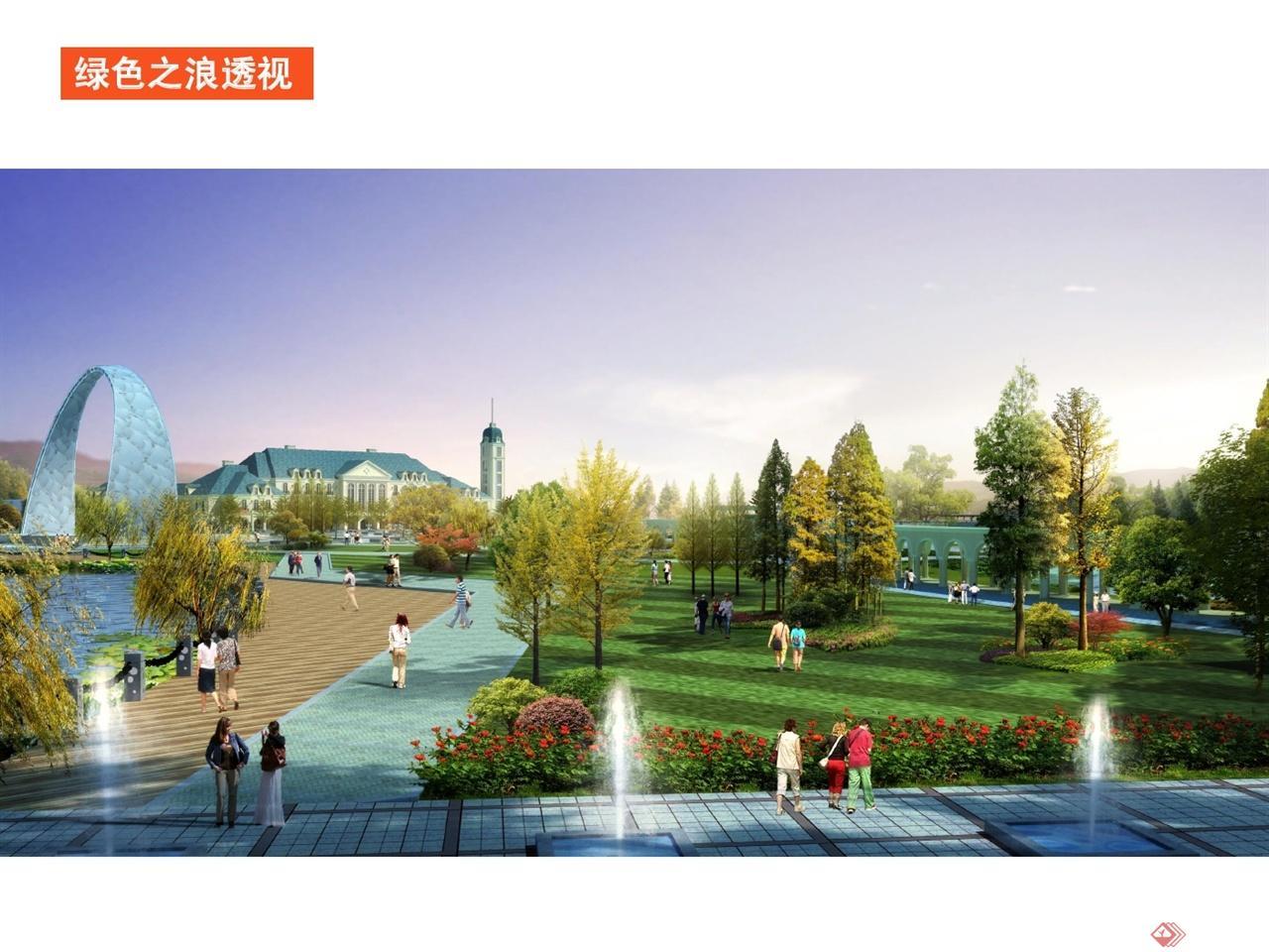 中国淮安世界运河文化旅游区运河文化广场景观设计007