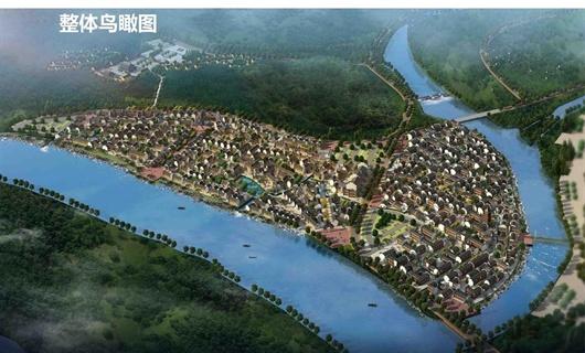 临安浙西旅游度假区核心区民宿小镇南区项目建筑概念设计