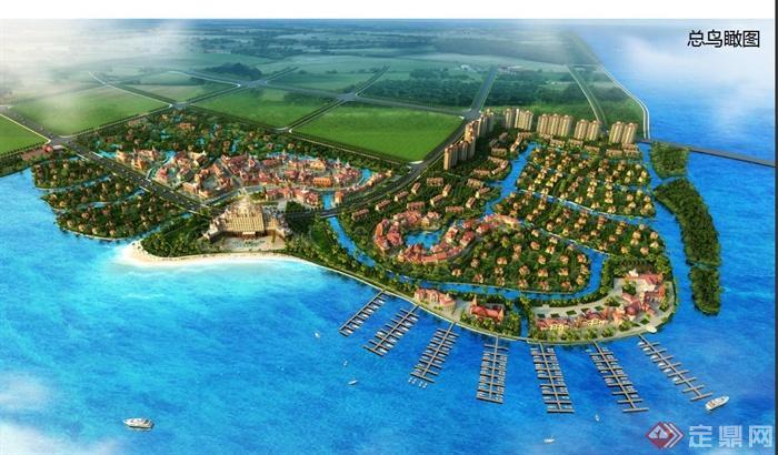 某海湾旅游度假小镇规划设计PDF文本(1)