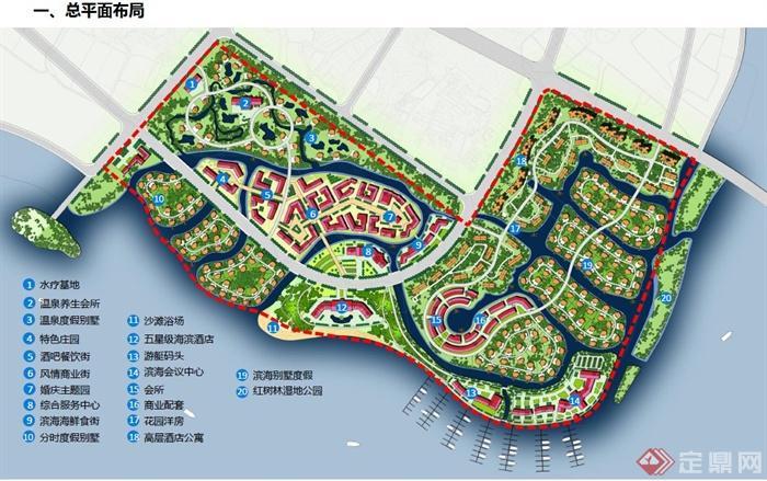 某海湾旅游度假小镇规划设计PDF文本(8)