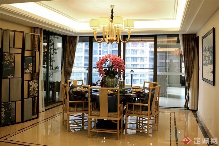 餐廳,餐廳裝飾,餐桌椅,吊燈