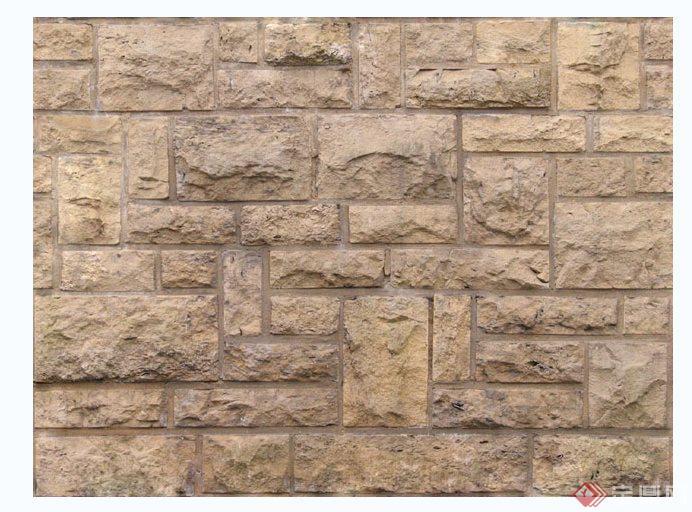 文化石、剁斧石、毛石材质贴图(4)