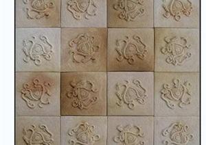 花饰与石膏花贴图素材