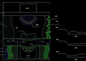 道路绿化设计CAD图