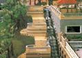 阶梯台阶,台阶踏步,观景台,栏杆围栏,景观亭