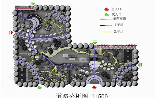 重庆市渝北区某住宅小区景观规划设计