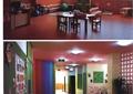 幼儿园,教室,托儿所,桌椅组合