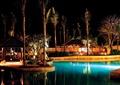 酒店中庭景观,水池,树池,凉亭