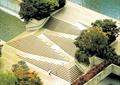 水池景观,台阶踏步,树池