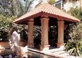 亭子设计,亭子景观,雕塑小品,水池景观
