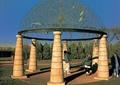 亭子设计,景观亭,亭子柱,镂空顶