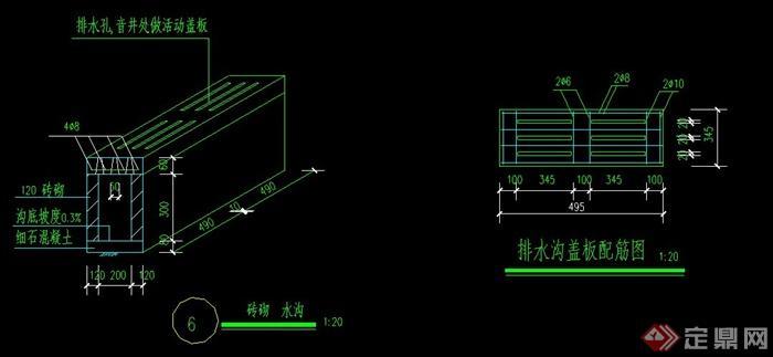 標準籃球場CAD做法詳圖(4)