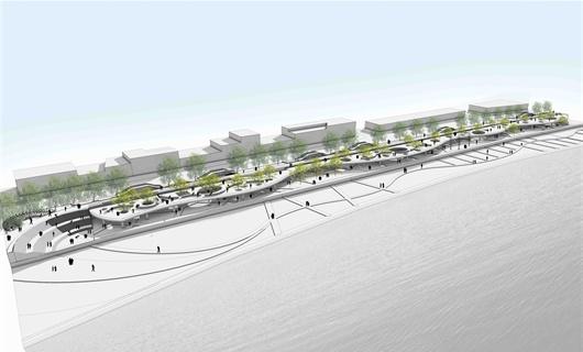 茂名市小东江滨水绿地设计
