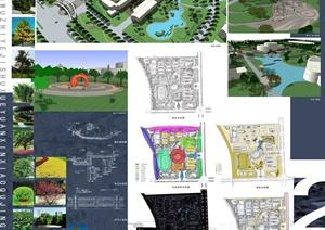建筑學作業排版設計合集
