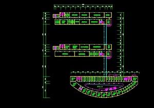某大学材料学院教学大楼平面布置图