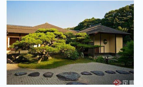 现代别墅庭院花园实景图(1)