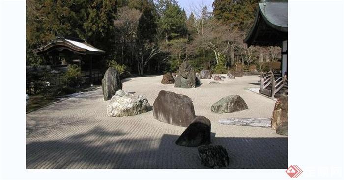 现代别墅庭院花园实景图(2)