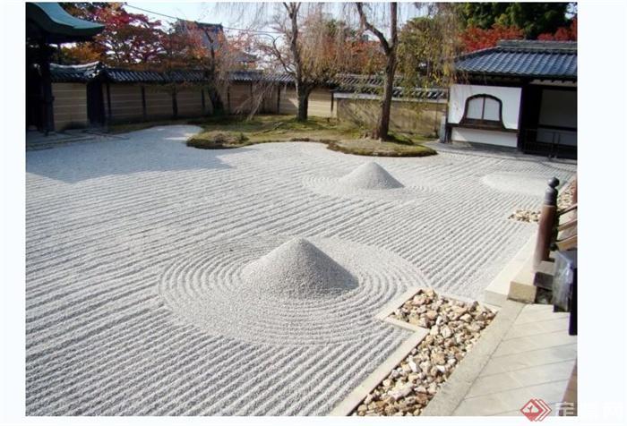 现代别墅庭院花园实景图(5)