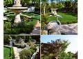 庭院,庭院景觀,庭院花園,雕塑小品