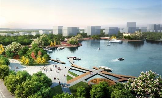 某地區文化產業園景觀規劃設計