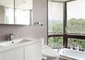 卫生间,浴室,浴缸,洗手柜
