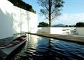 水池景觀,模型船