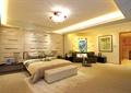 臥室,床,地毯,沙發組合,軟包墻面