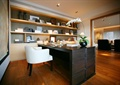 书房,书柜,桌子,椅子