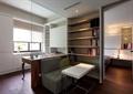 书房,书柜,沙发,桌子