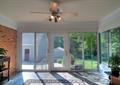 客厅,别墅客厅,风扇,玻璃幕墙