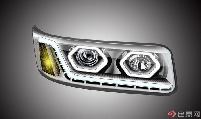 汽车素材,车灯