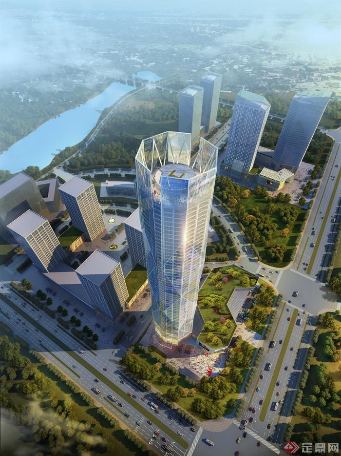 办公大楼,办公楼,办公建筑,办公建筑景观