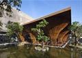 咖啡厅,咖啡馆,水池,树池